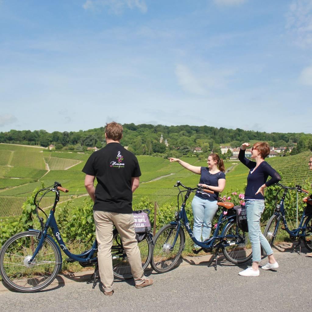 Balade en vélo électrique en Champagne