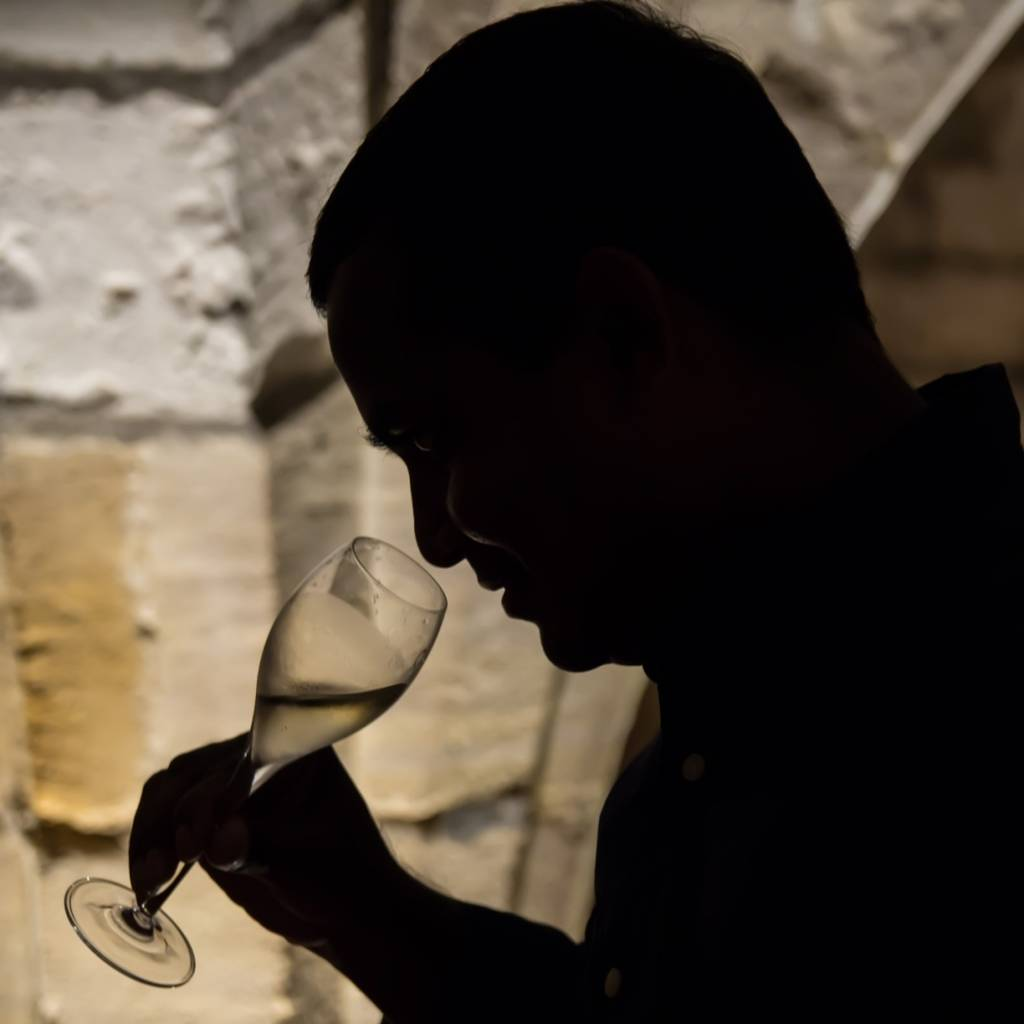 Tasting in the Medieval Cellars