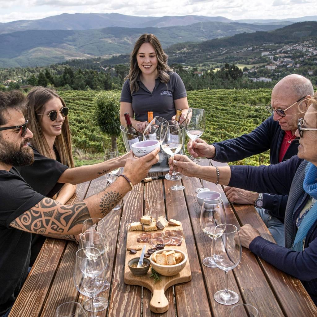 Premium Wine Tasting at Quinta de Santa Cristina - Vinho Verde