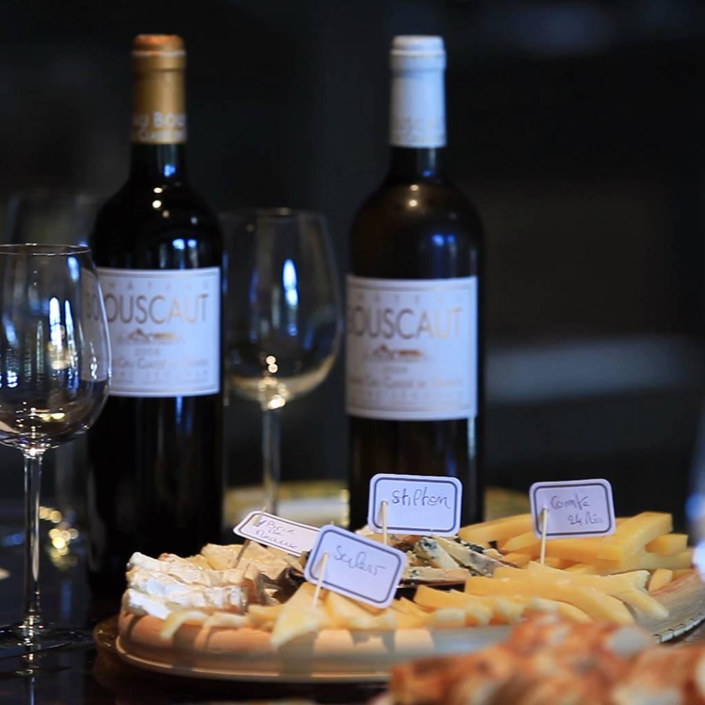 - Wine & Cheese pairing
