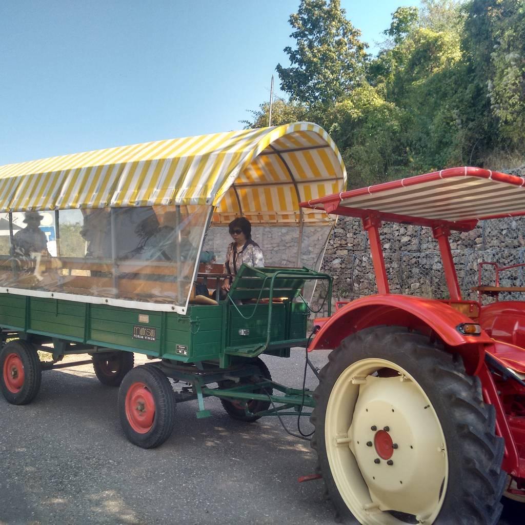- Porsche Tractor - Wine Caravan Tour