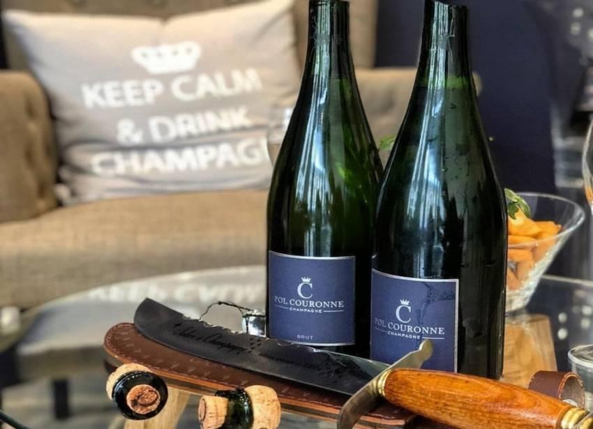 Luxury Masterclass avec sabrage - Champagne Pol Couronne