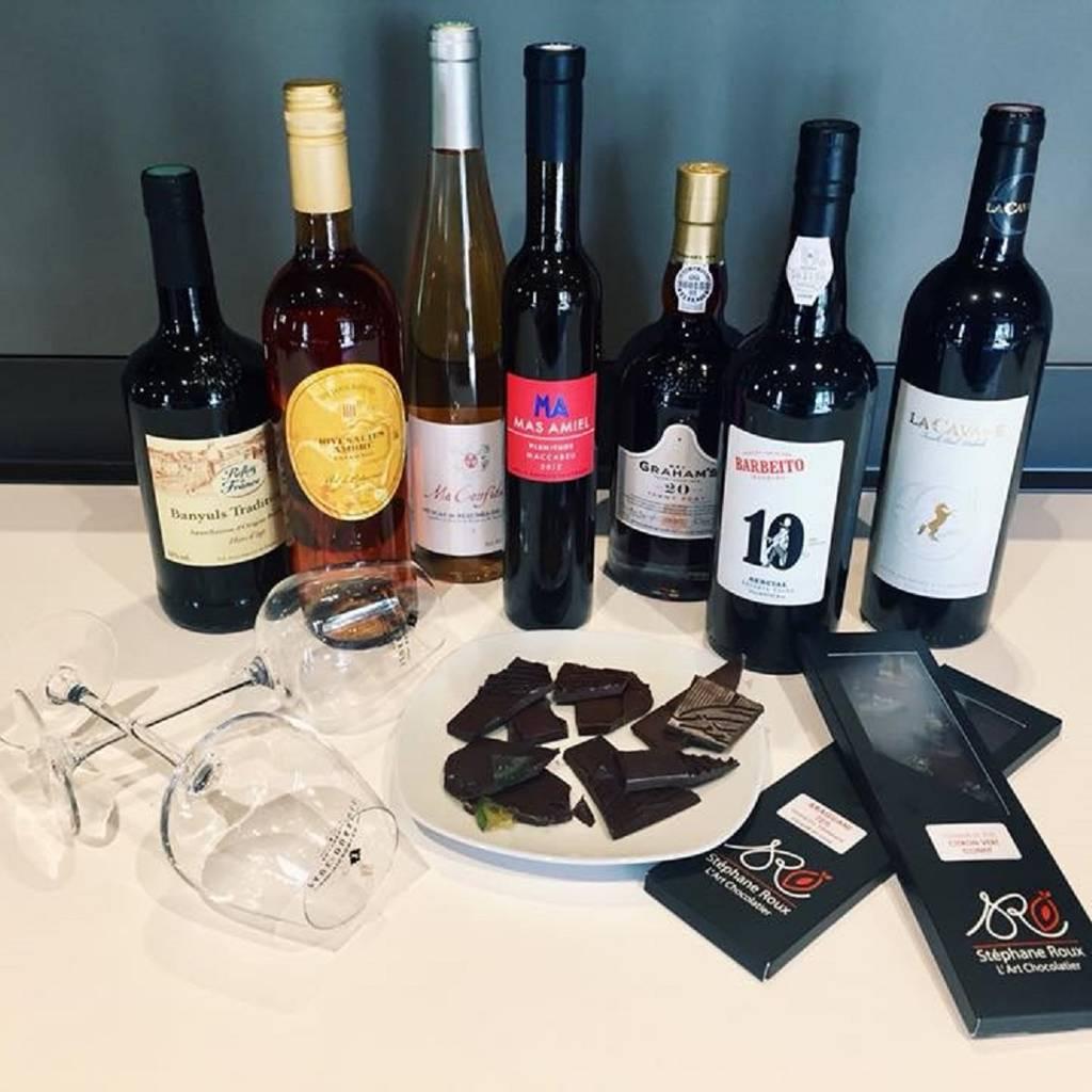 - Wines & chocolates