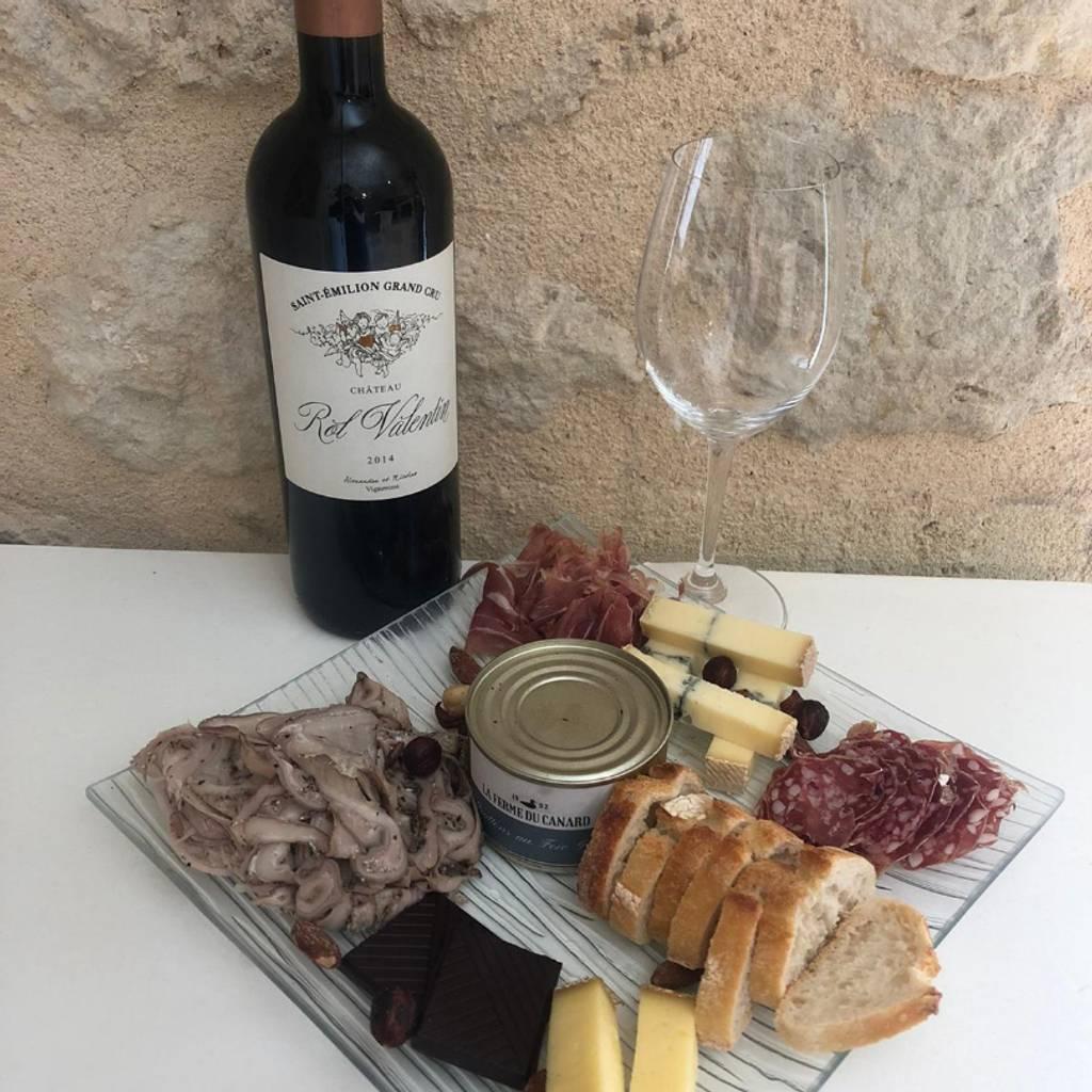 Food and wine pairing visit