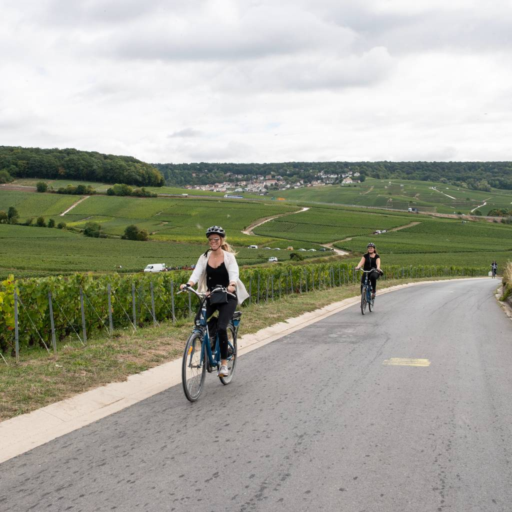 - E-bike Tour, Champagne & Lunch