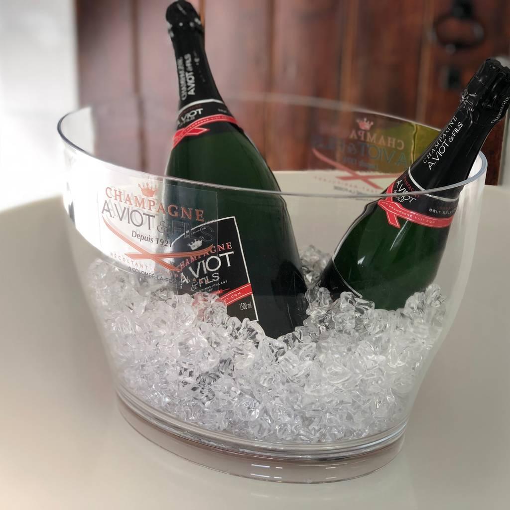 - Champagne tasting