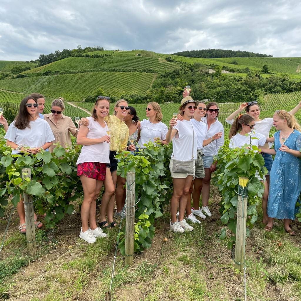 Sabering Experience for bachelor/bachelorette parties in Champagne