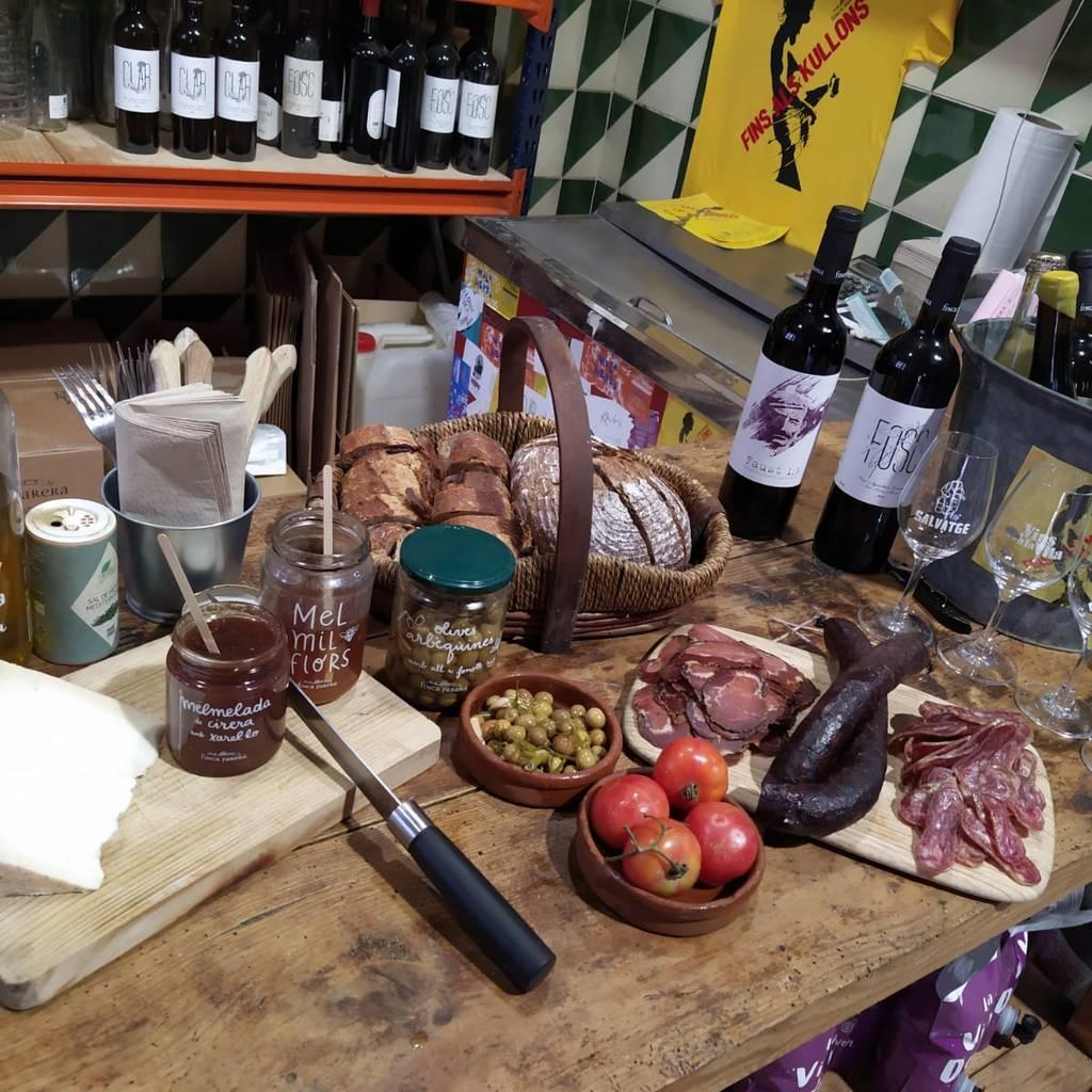 - Walk among vineyards and natural wine tasting