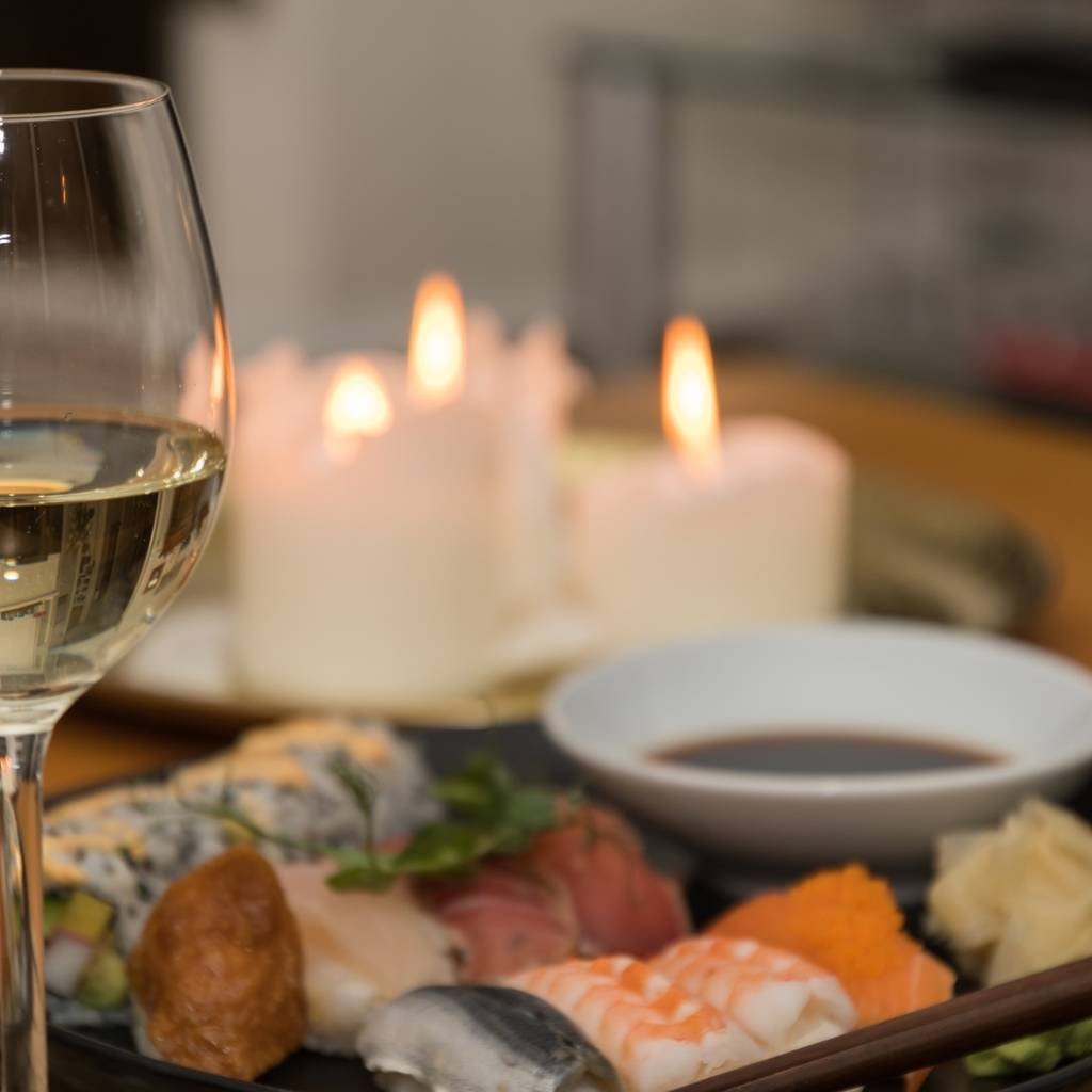 Maki-Sushi pair it with wines at your hotel