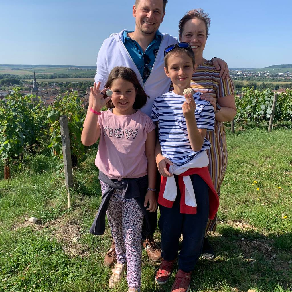 - Family getaway in Aÿ-Champagne