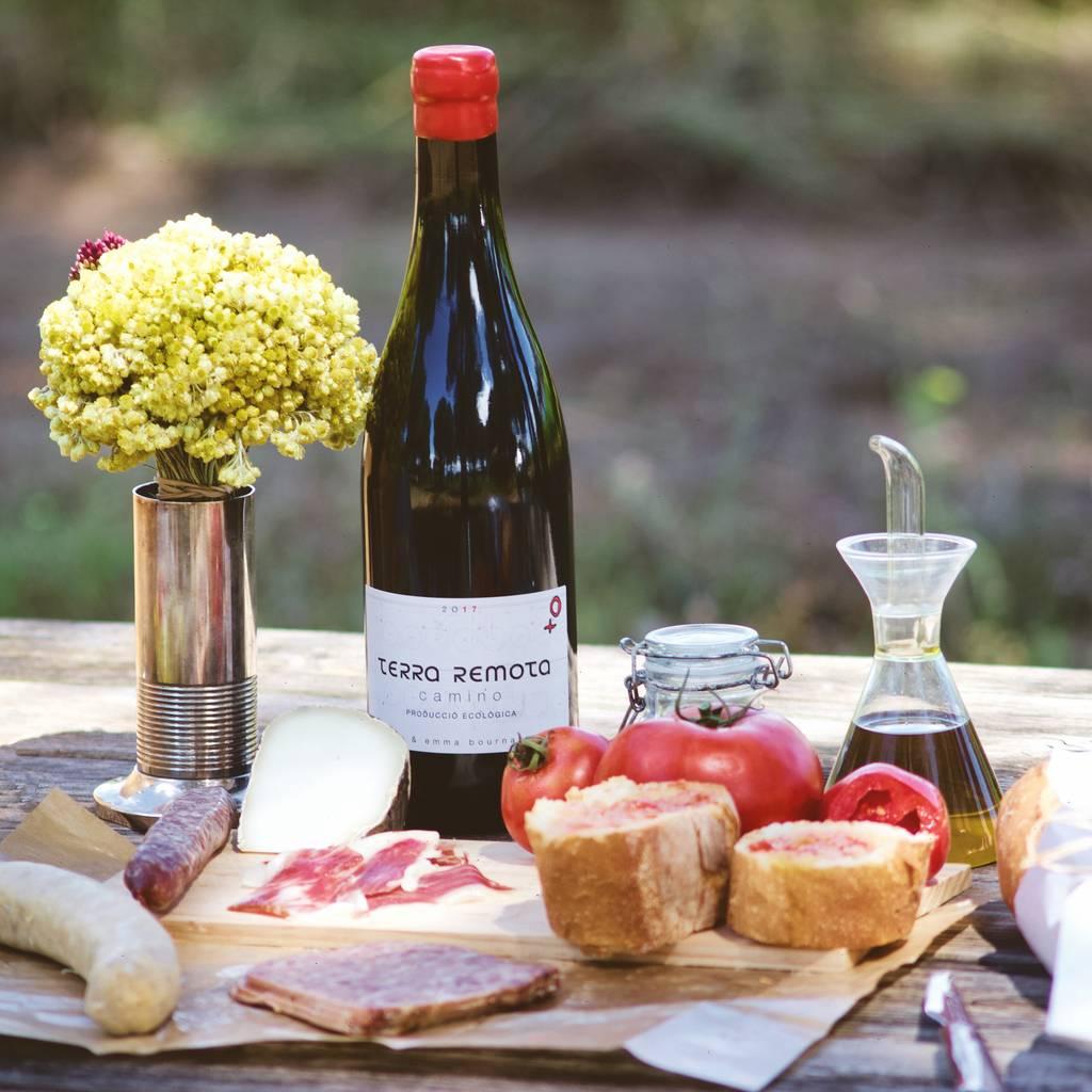 - Picnic in the vineyard