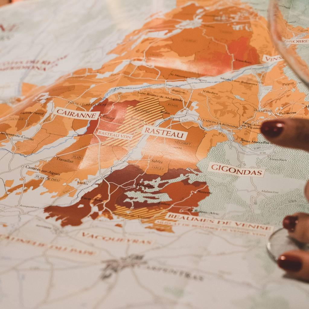 Introduction to tasting southern Côtes du Rhône wines