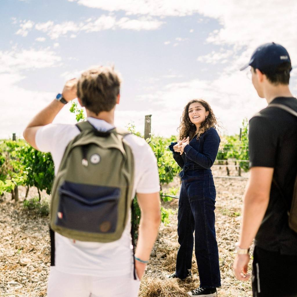 Guided tours in the heart of an unique biodynamic vineyard