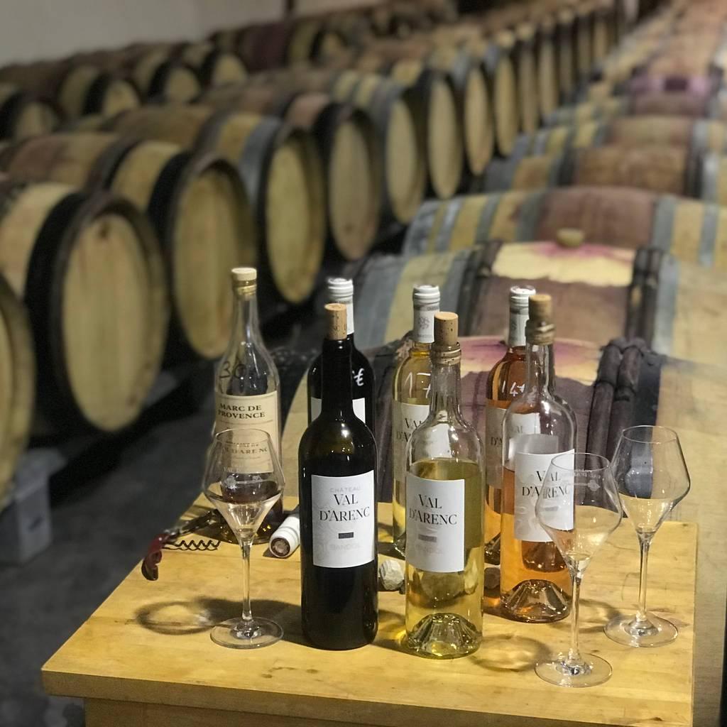 - Descoberta das vinhas Bandol em Méhari