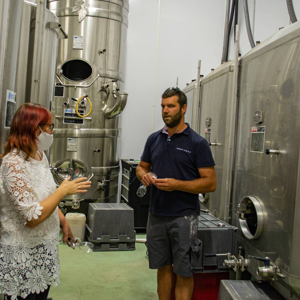 - In the footsteps of a winegrower