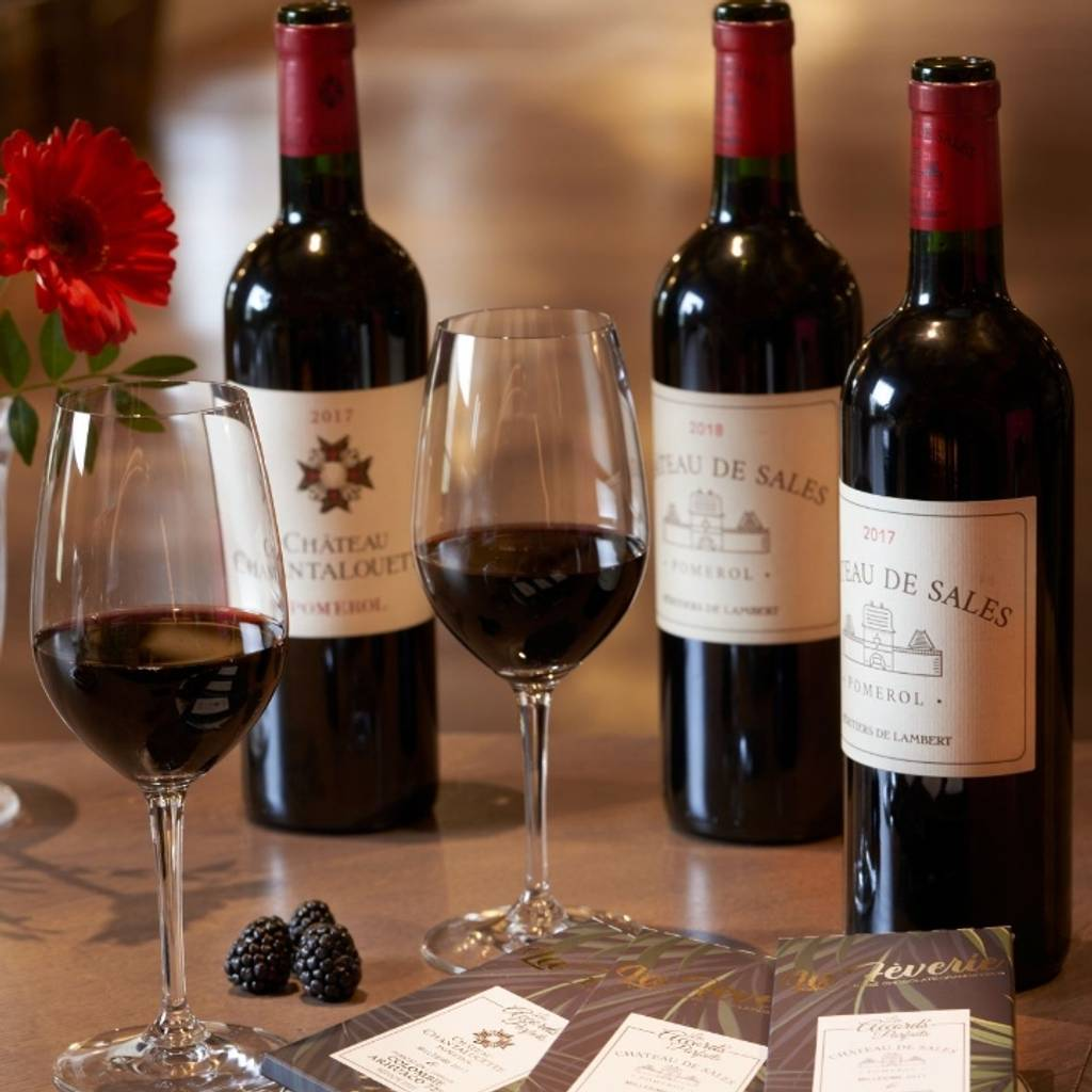 A treat for the tastbids – wine & chocolate pairing