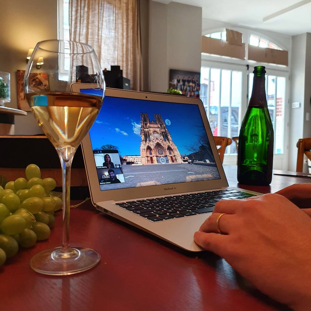 - Virtual tour secrets of Champagne with a local expert