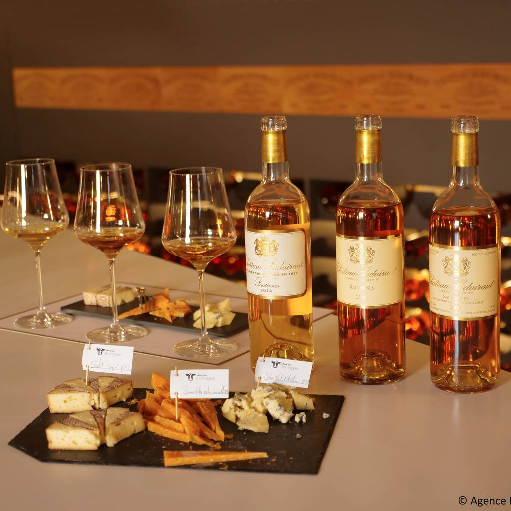 - Wine and cheese tasting