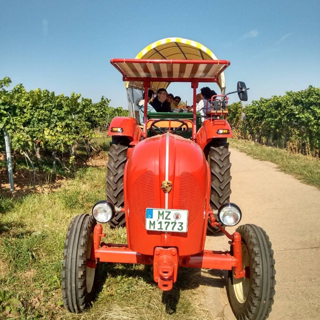 Porsche Tractor - Wine Caravan Tour