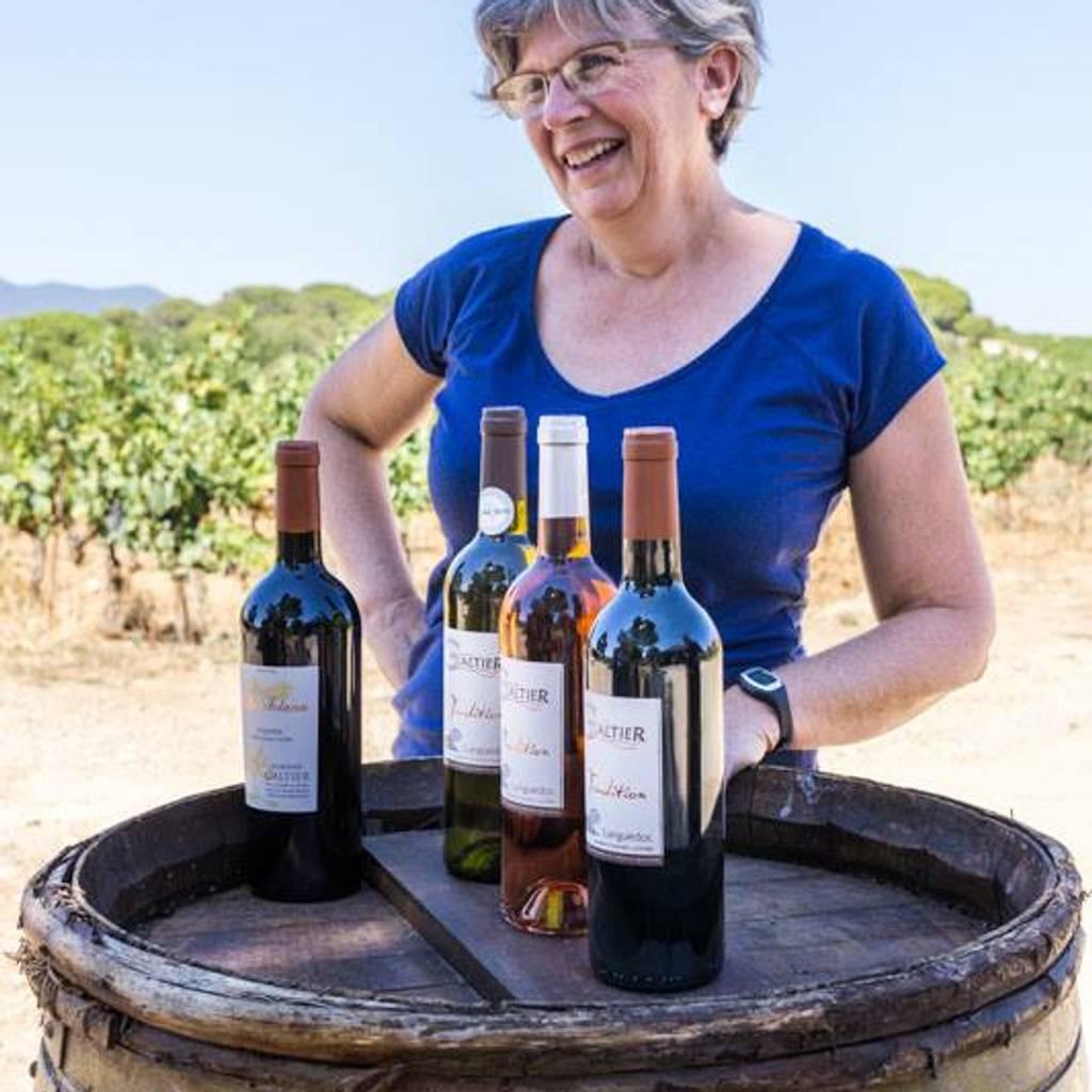 - Balade dans les vignes avec la vigneronne