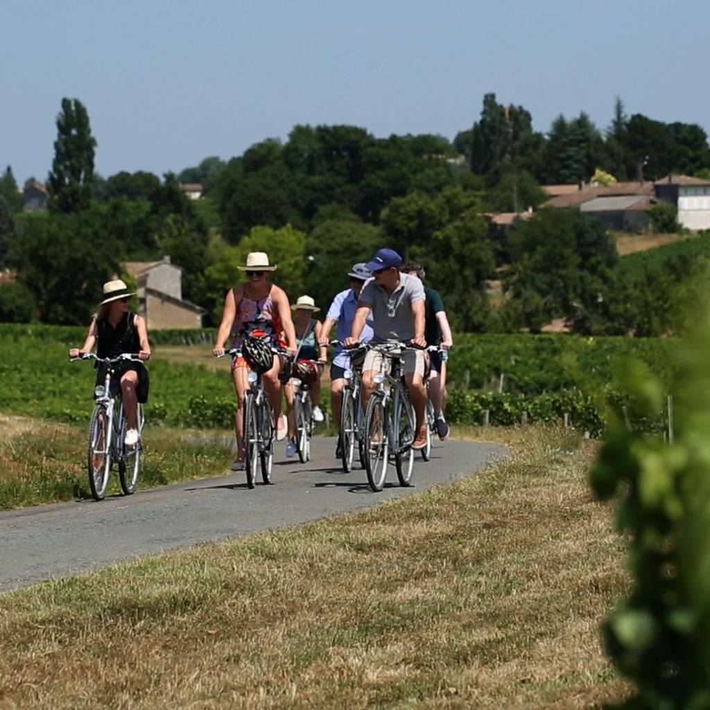 Self ride tour to St-Emilion