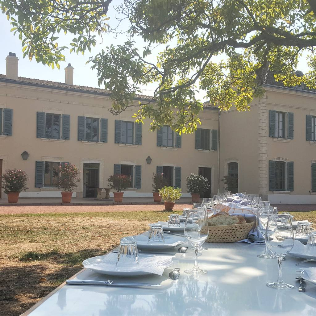 - Visit, tasting and a pic-nic in the parc of Château des Jacques
