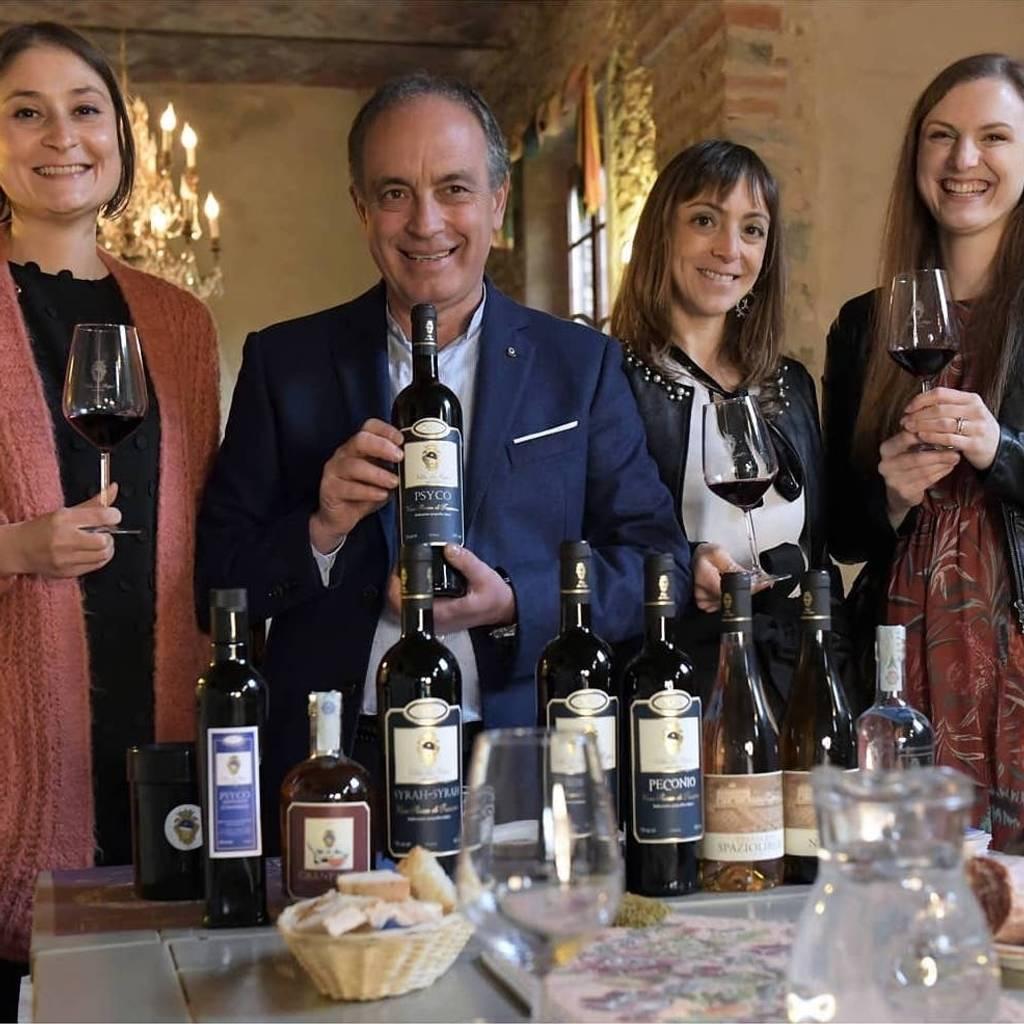 Villa La Ripa Heel Toscane: bezoek en wijn- en spijscombinatie