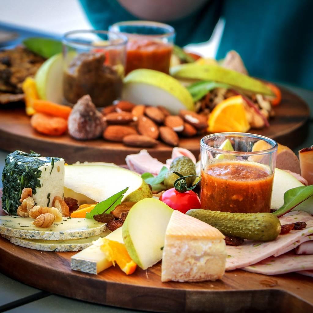 L'épicurien: besök, provsmakning och aperitifbrädor