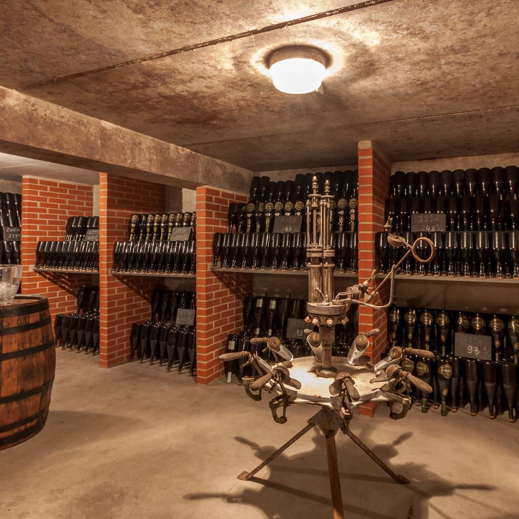 - Visit of the historics cellars of Pierry and tasting of 3 Champagne