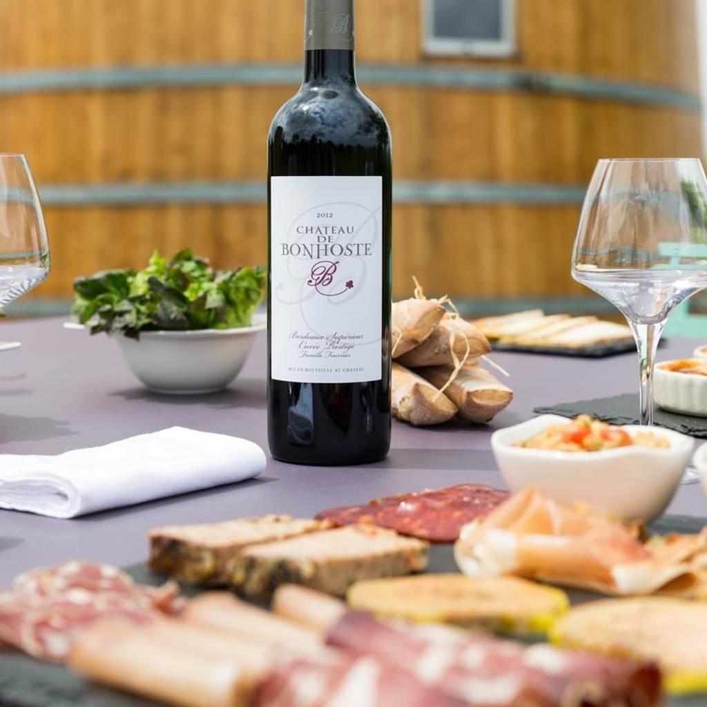 Visit & Tasting withfood and wine pairing