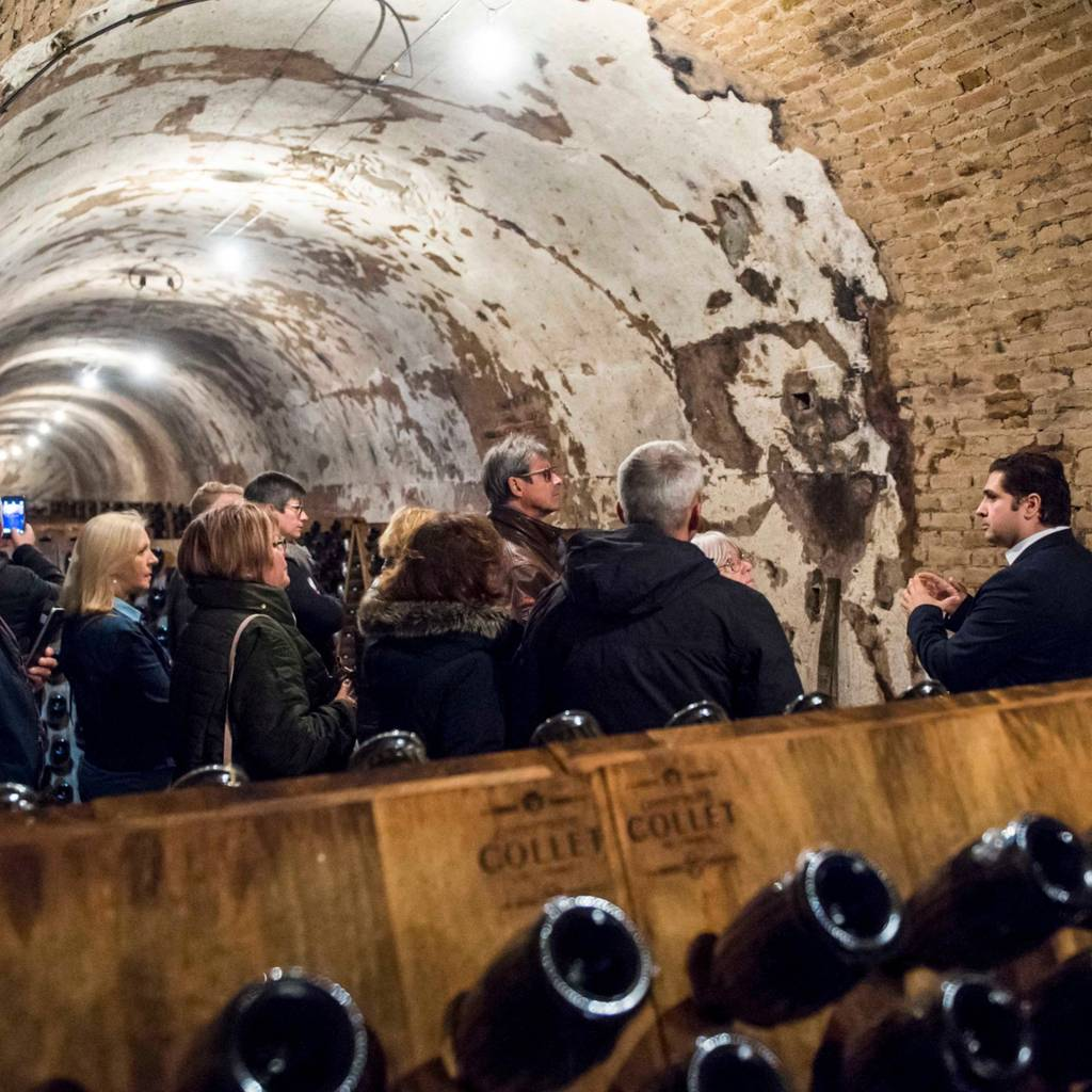 "Visit of the ""Cité du Champagne"" and tasting of 3 cuvees"