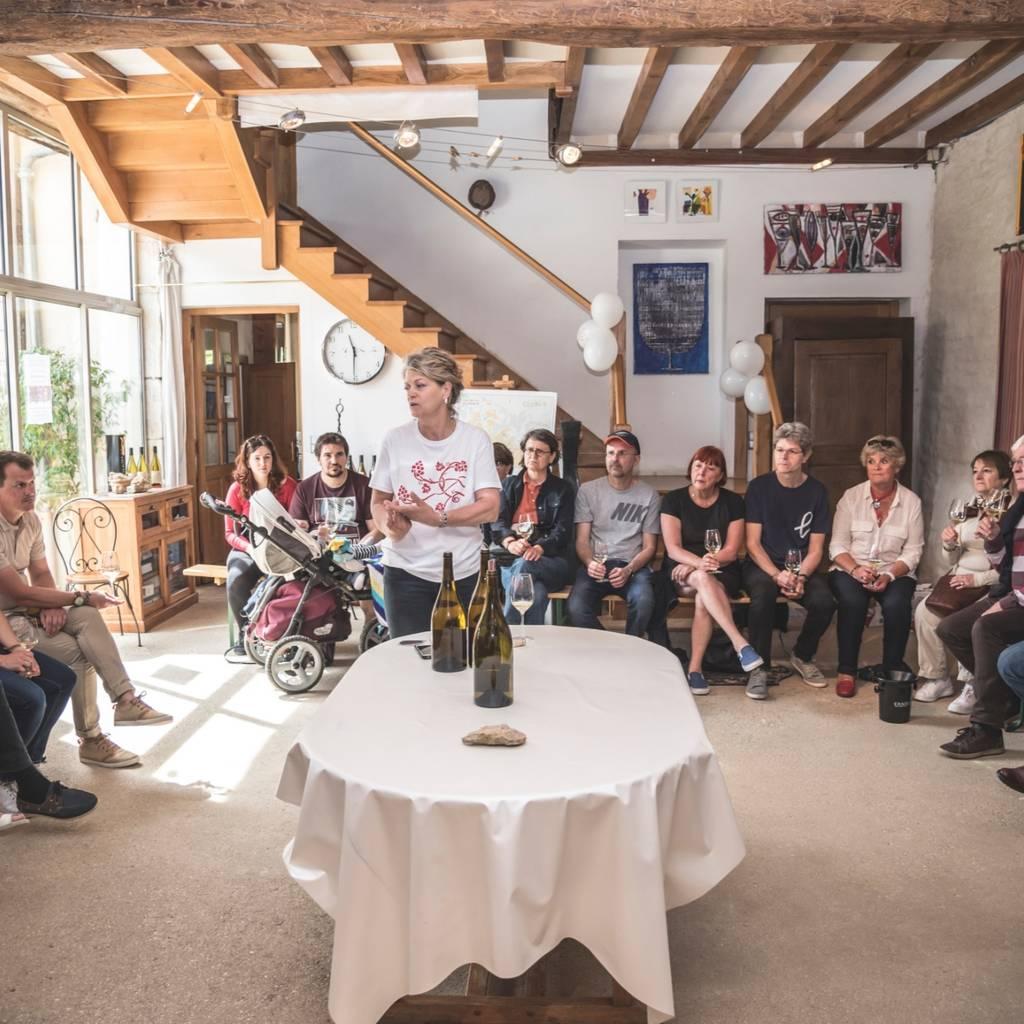 Visit and Wine tasting Chablis