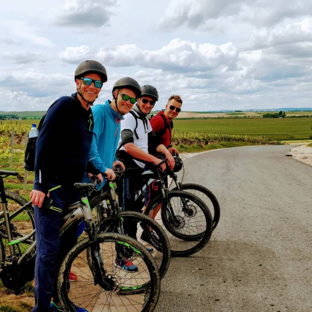 - Bike tour in Champagne