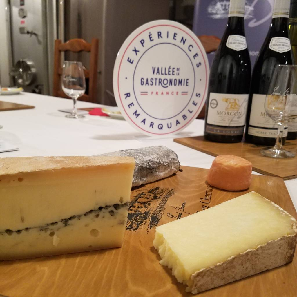 The wine & cheese workshop