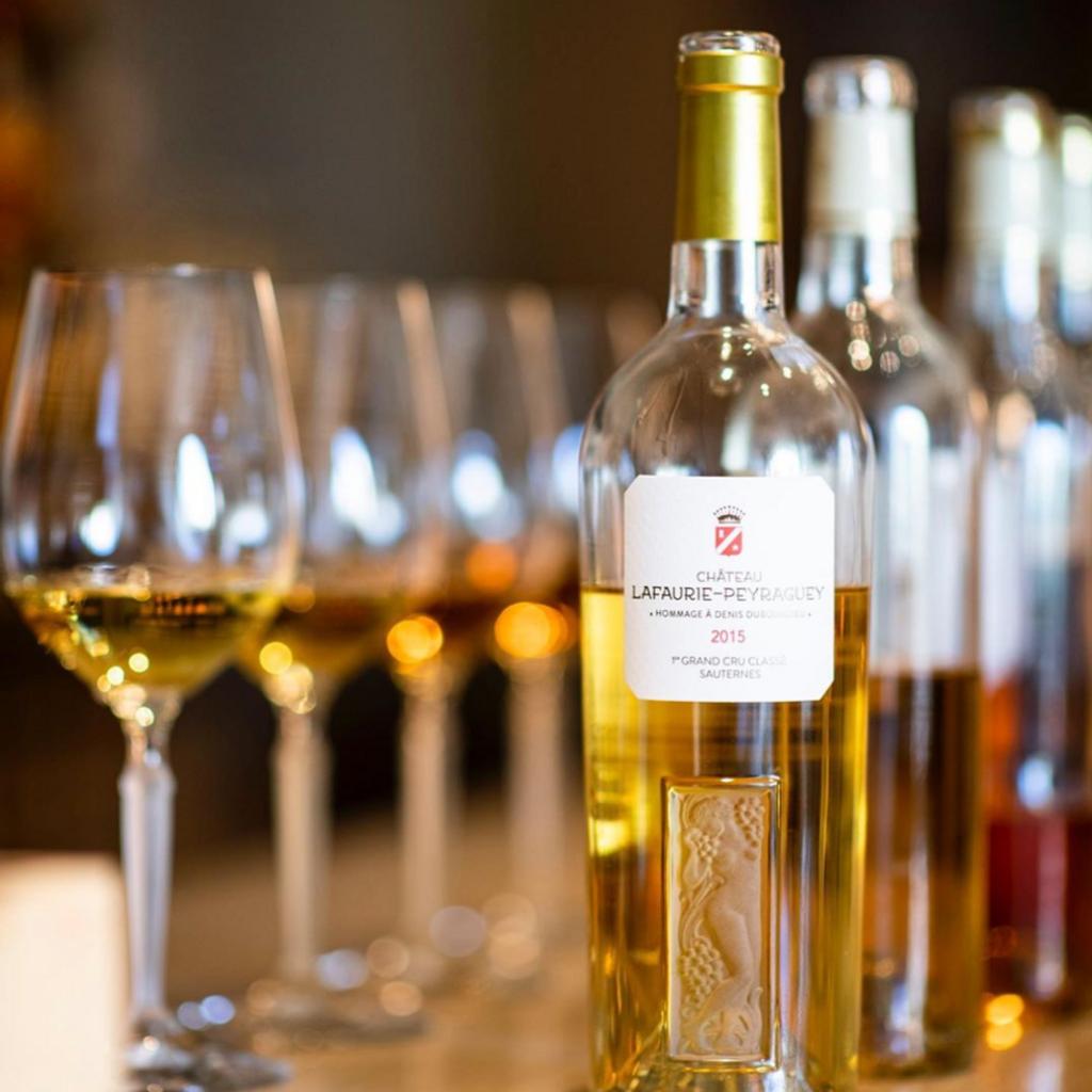 Dégustation de 3 vins