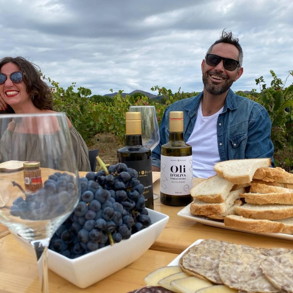 MP360: vino, degustación de aceite de oliva y comida