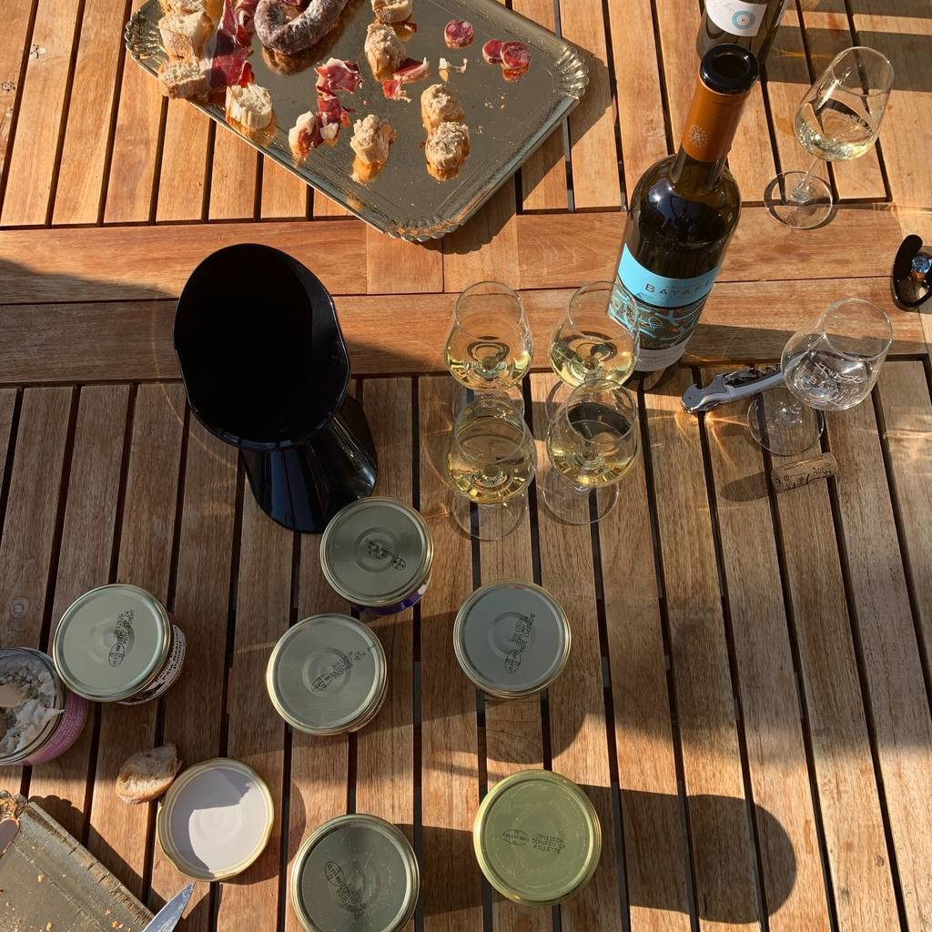 Wine pairing with local culinary specialities