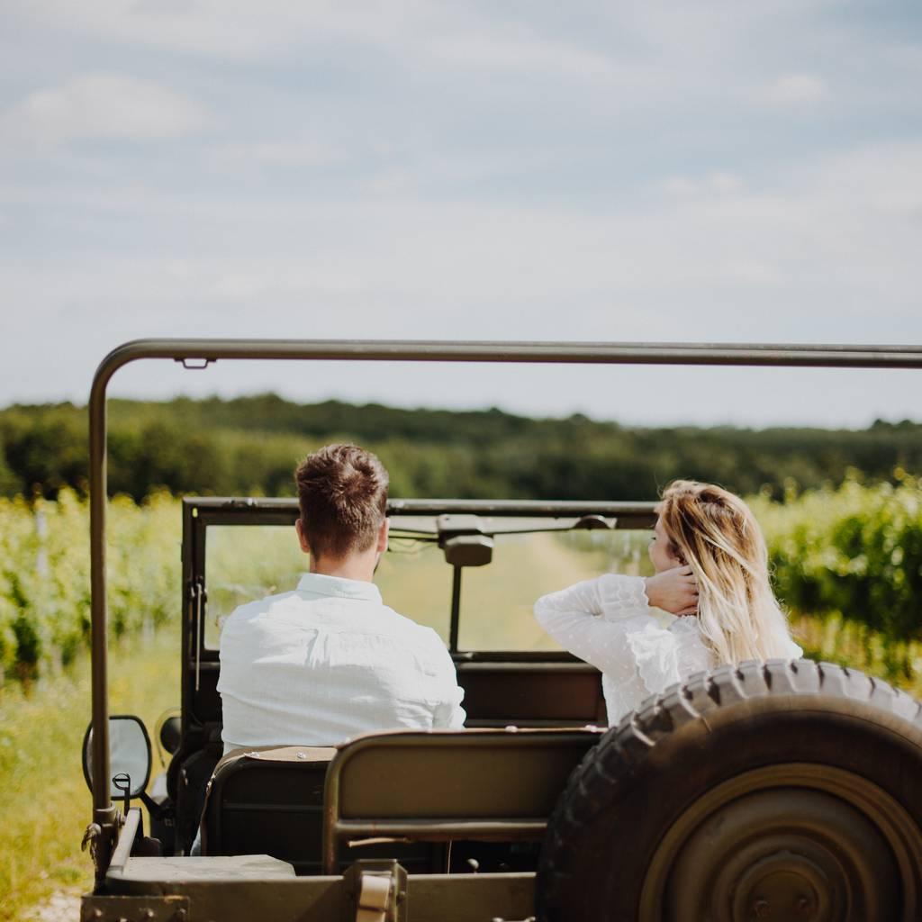 - Jeep ride